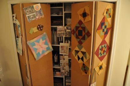 corkboard-62 & Cork Board Closet Doors - All Things Heart and Home