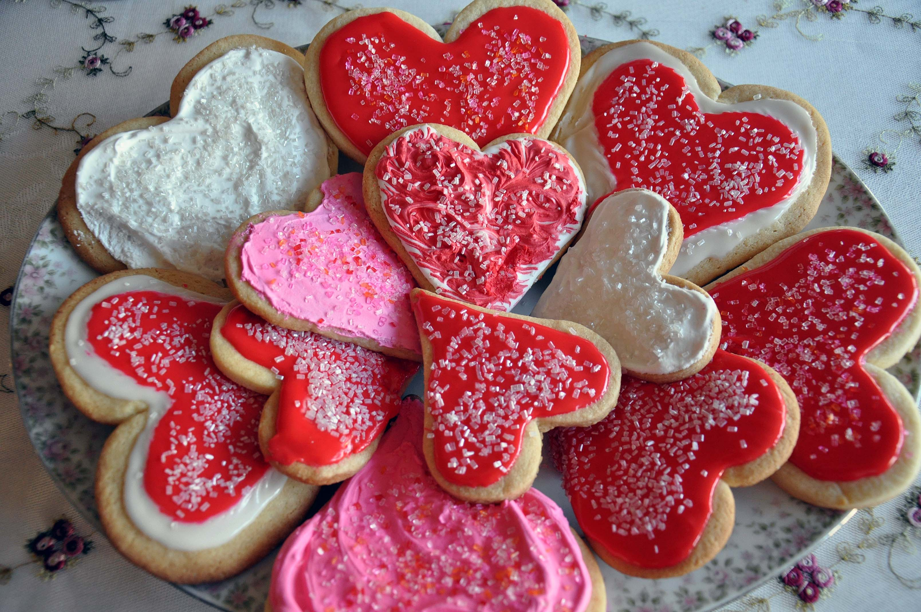 Chocolate Valentine Cookies Recipe — Dishmaps